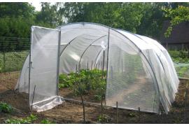 Serre abri légumes largeur 4m
