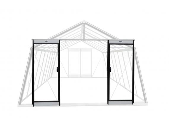 porte supplémentaire pour ouverture double sur facades