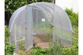 Serre Jardinière largeur 3m avec aérations