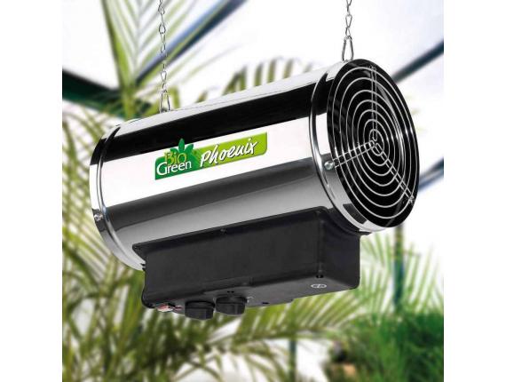 Chauffage électrique à ventilateur serre Phoenix