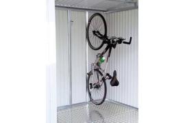 Support de vélo pour abri de jardin Europa et armoire à outils