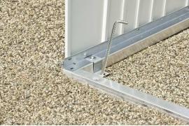 Cadre de sol en aluminium pour ABRI HighLine