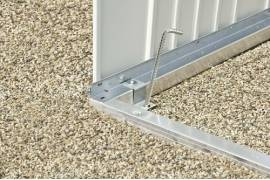 Cadre de sol en aluminium pour ABRI EUROPA