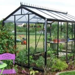 Montage serre tunnel et polycarbonate nantes - Comment monter une serre de jardin ...